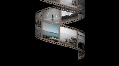 Rollo carrete de fotos en espiral